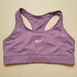 Nike Lilac Purple Racerback Sports Bra Small